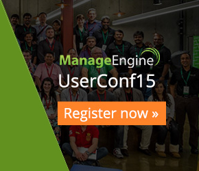 ManageEngine ITOM UserConf: You are Invited