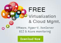 Free Virtualization & Cloud Monitoring