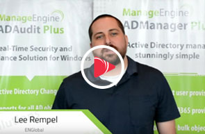 EMGlobal can't wait to get started on using ADManager Plus's extensive functionalities