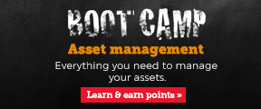 Boot camp. Asset management. Learn and earn points.