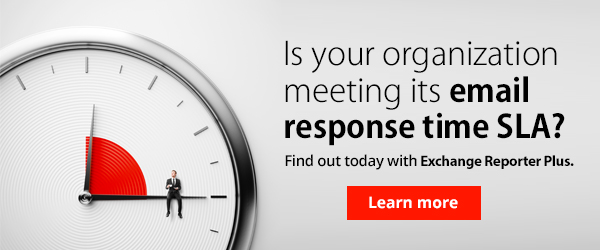 Is your organization meeting the email response time SLA? Find out now.