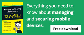 Everything you need to know about managing and securing mobile devices.