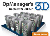 OpManager 3D Datacenter Builder