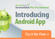 ServiceDesk Plus On-Demand