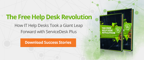 The free help desk revolution by ServiceDesk Plus