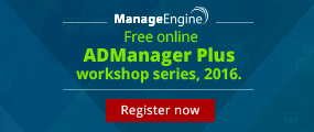 Free online admanager plus workshop series