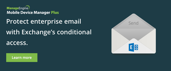 Protect enterprise email with Exchange conditional access