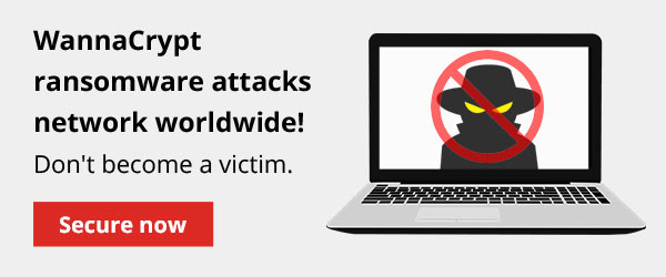 WannaCrypt ransomware attacks network worldwide. Secure now.