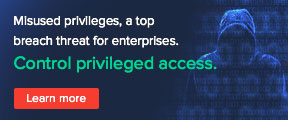 Misused privileges, a top breach threat for enterprises. Control privileged access. Learn more.
