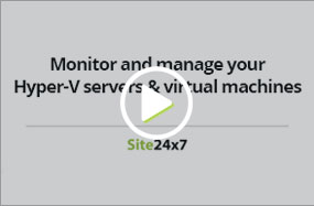 Monitor and manage your Hyper-V server and virtual machines
