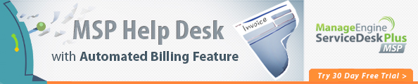 MSP Help Desk with Automated Billing Features