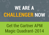 Applications Manager is now a CHALLENGER in Gartner's APM Magic Quadrant - 2014