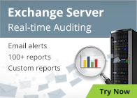 Exchange Server Real-time Auditing