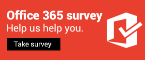 Office 365 survey Help us help you.