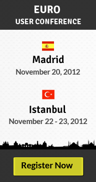 EURO User Conference - Madrid and Istanbul