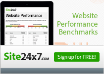 Site 24x7 - Website Performance Benchmarks