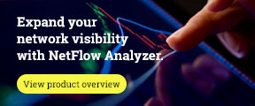 Expand your network visibility with Netflow Analyzer