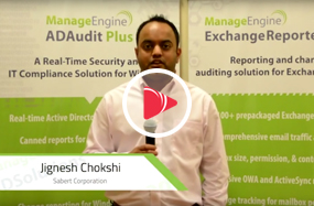 Sabert Corporation manages its AD using ManageEngine AD Audit Plus and AD Self Service Plus