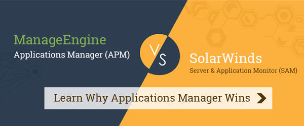 ManageEngine vs. SolarWinds Why We Win