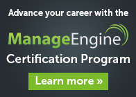 ManageEngine Certification Program