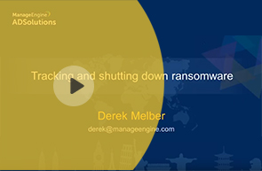 Tracking and shutting down ransomware