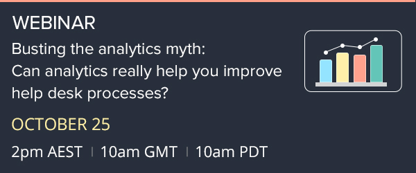 Free webinar: Busting analytics myths