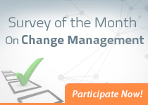 Survey of the month on Change Management