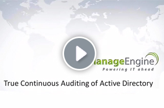 Webinar: True Continuous Auditing of Active Directory