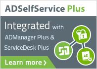 ADSelfService Plus