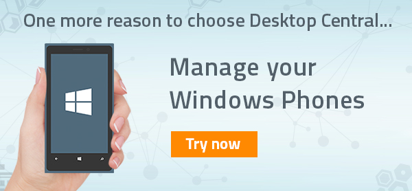 Mobile Device Management (MDM) for Windows