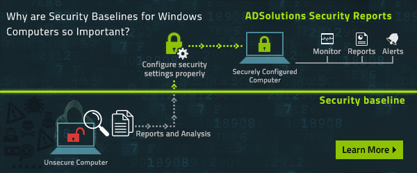 Why Are Security Baselines for Windows Computers so Important?