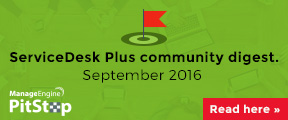 ServiceDesk Plus community digest.