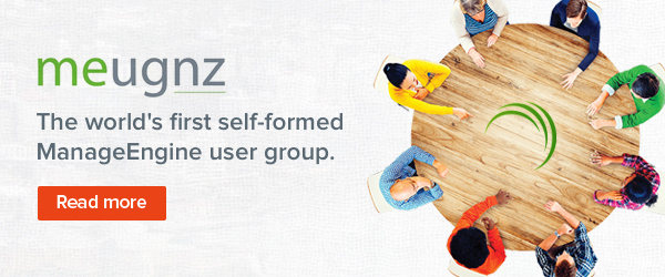 MEUGNZ: The story of the world's first self-formed ManageEngine user group.