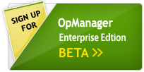 OpManager Beta Sign-Up