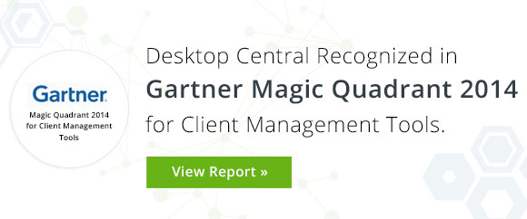 Desktop Central Earns Place in Gartner Magic Quadrant