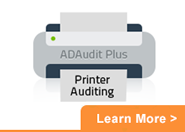 Printer Auditing